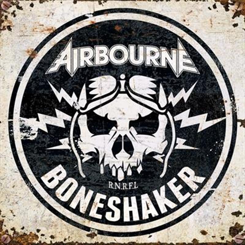 Boneshaker - Blue Red Spatter Vinyl | Vinyl