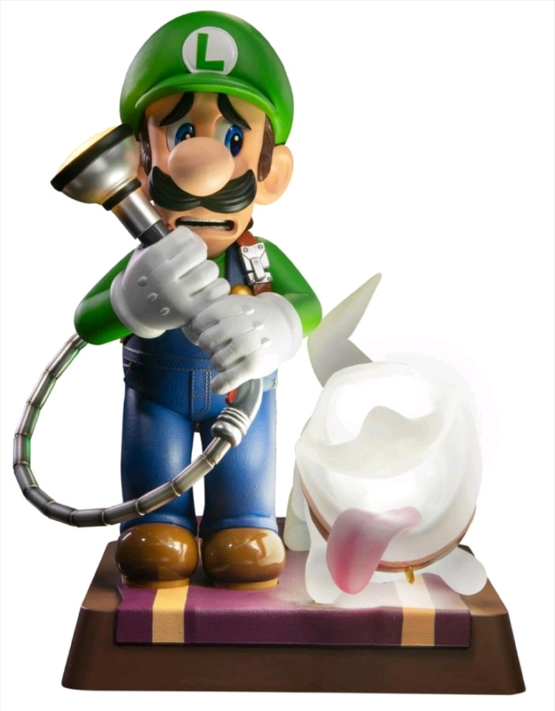 "Luigi's Mansion 3 - Luigi 9"" PVC Statue Collector's Edition 