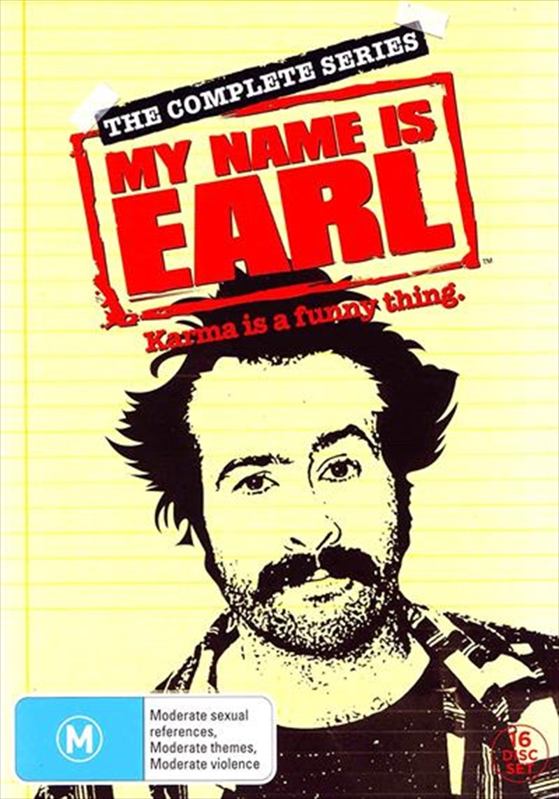 My Name Is Earl - Season 01 - 04 | Box Set | DVD