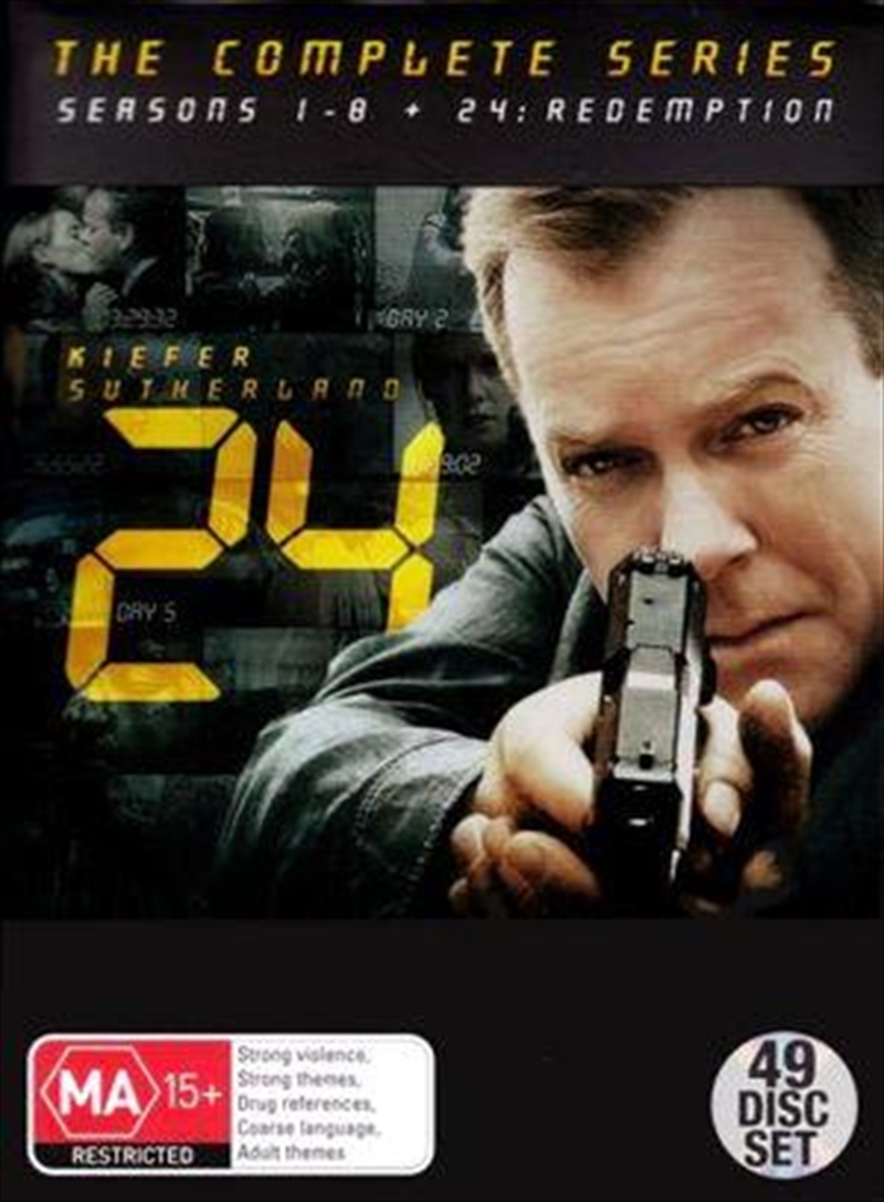 24 - Season 1-9 - Collector's Edition | Series Collection - Inc Redemption | DVD