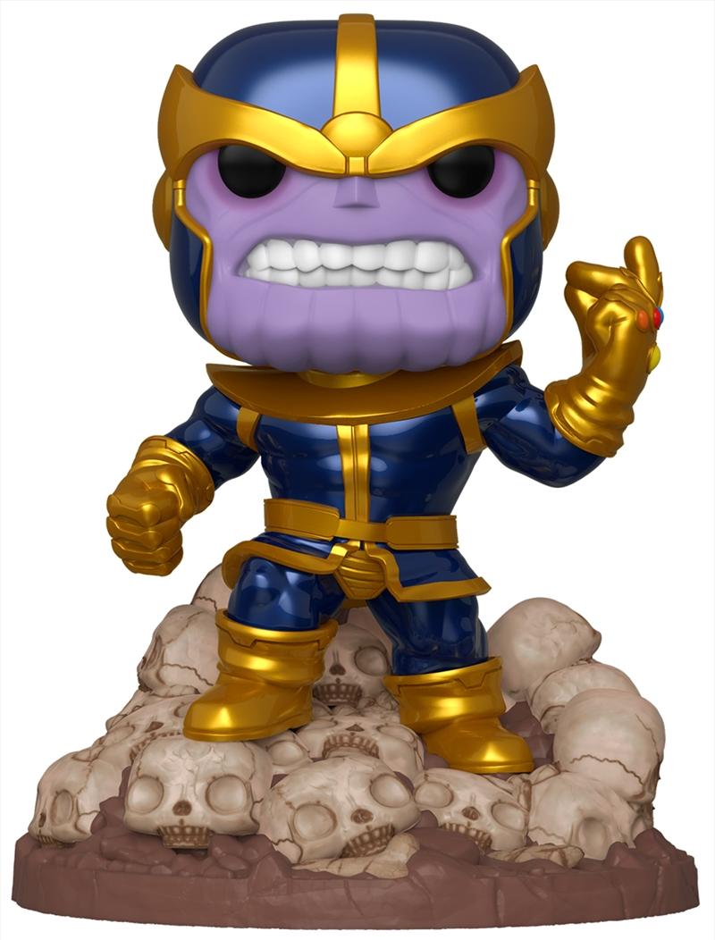 "Marvel - Thanos Infinity Saga Metallic 80th Anniversary US Exclusive 6"" Pop! Deluxe | Pop Vinyl"