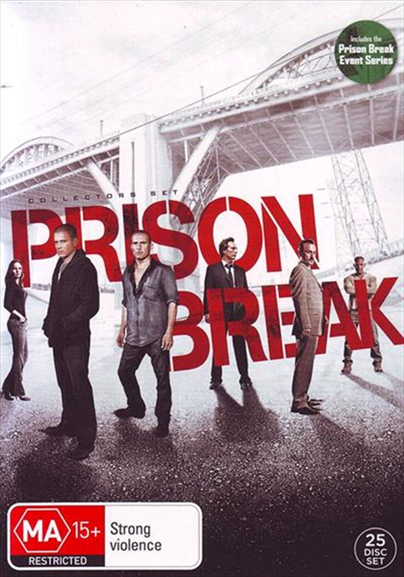 Prison Break | Complete Collection | DVD