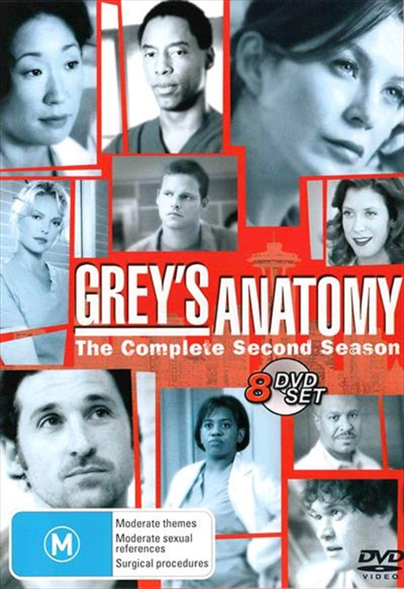 Grey's Anatomy - Season 02 | DVD