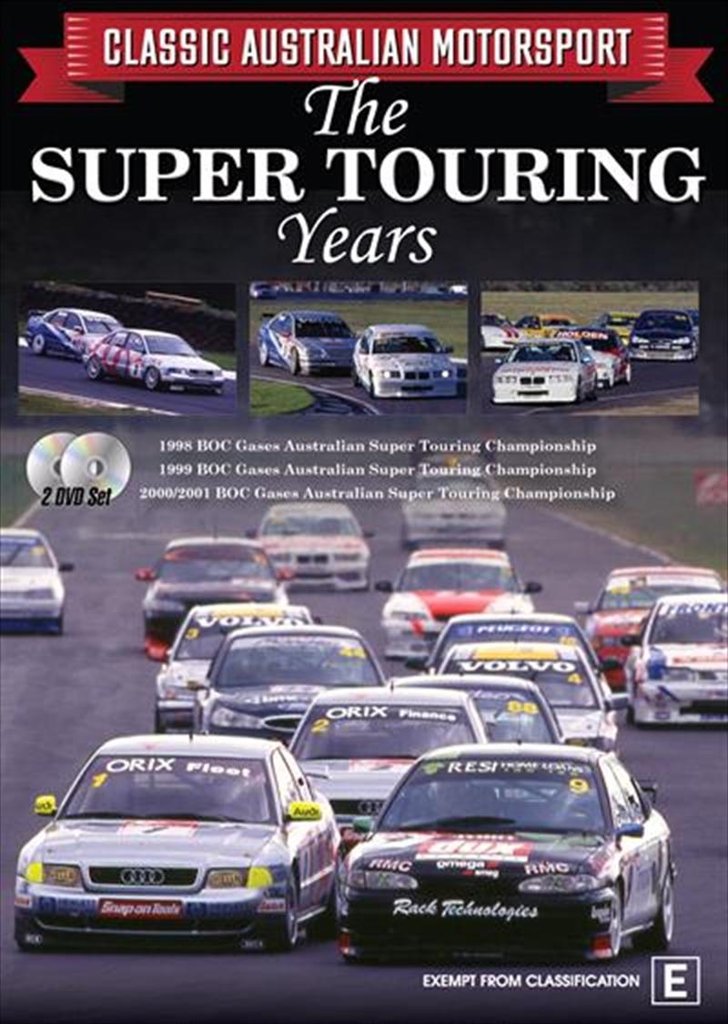 Classic Aussie Motorsport - The Super Touring Years - Vol 5 | DVD