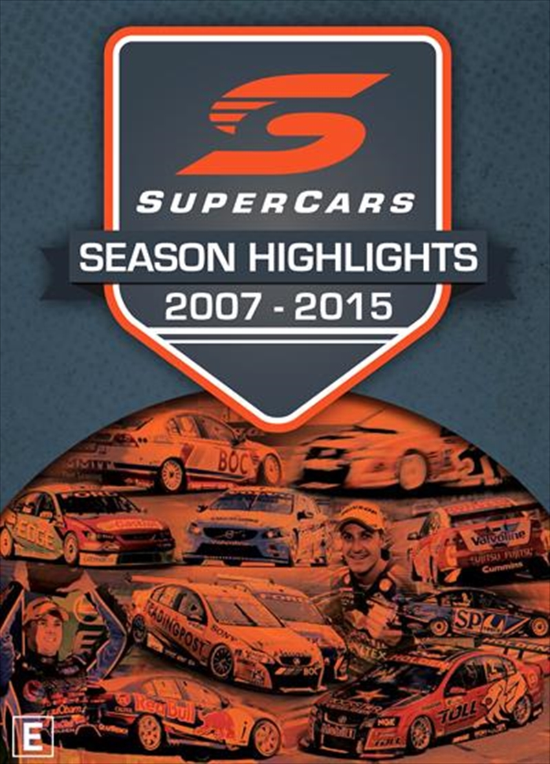 Supercars Championship Series Highlights 2007-2015 | DVD