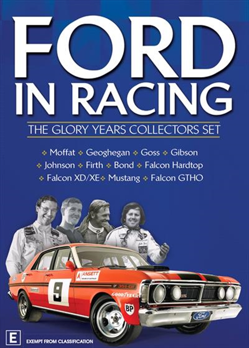 Ford In Racing - The Glory Years Collector's Gift Set | DVD