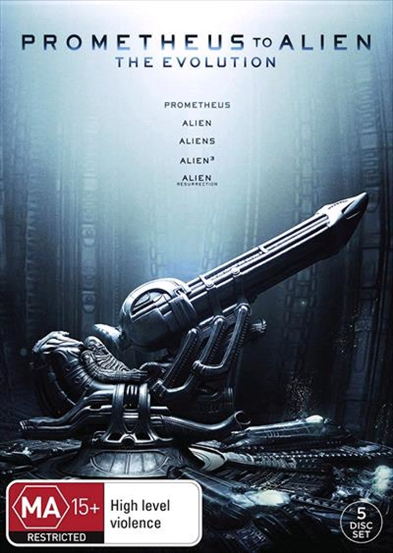 Prometheus To Alien - The Evolution | DVD
