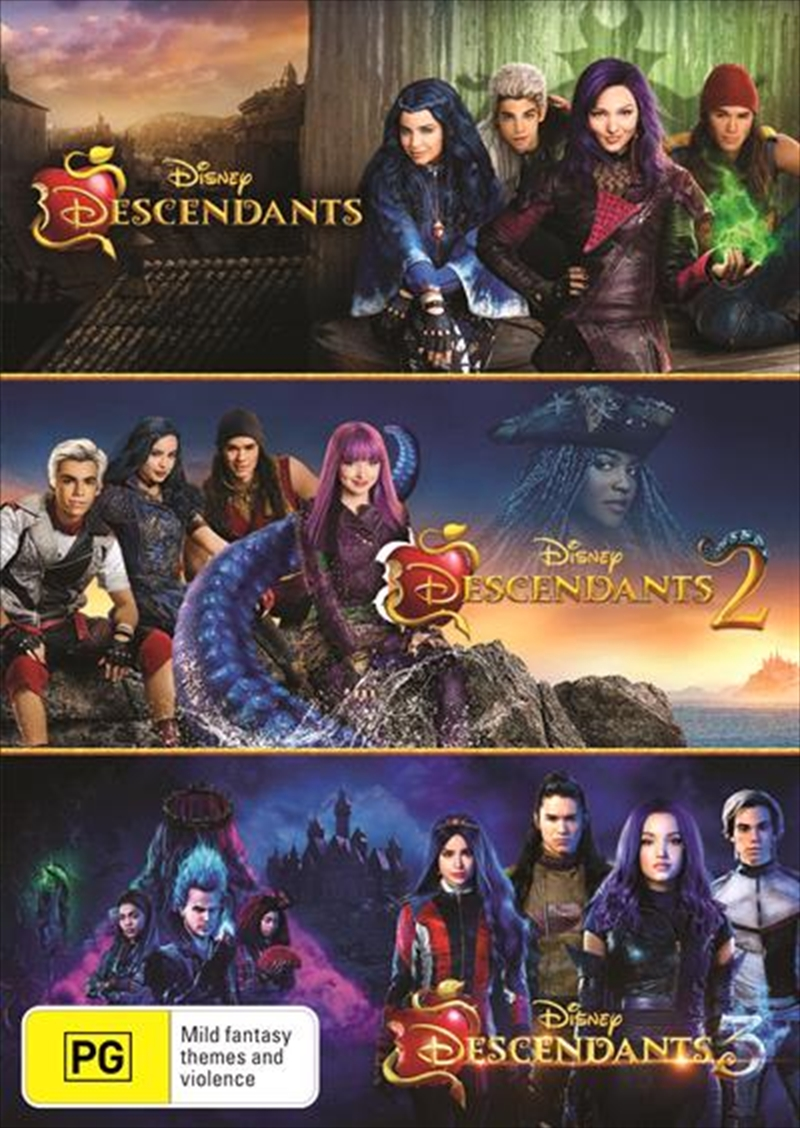 Descendants - Triple Pack | DVD