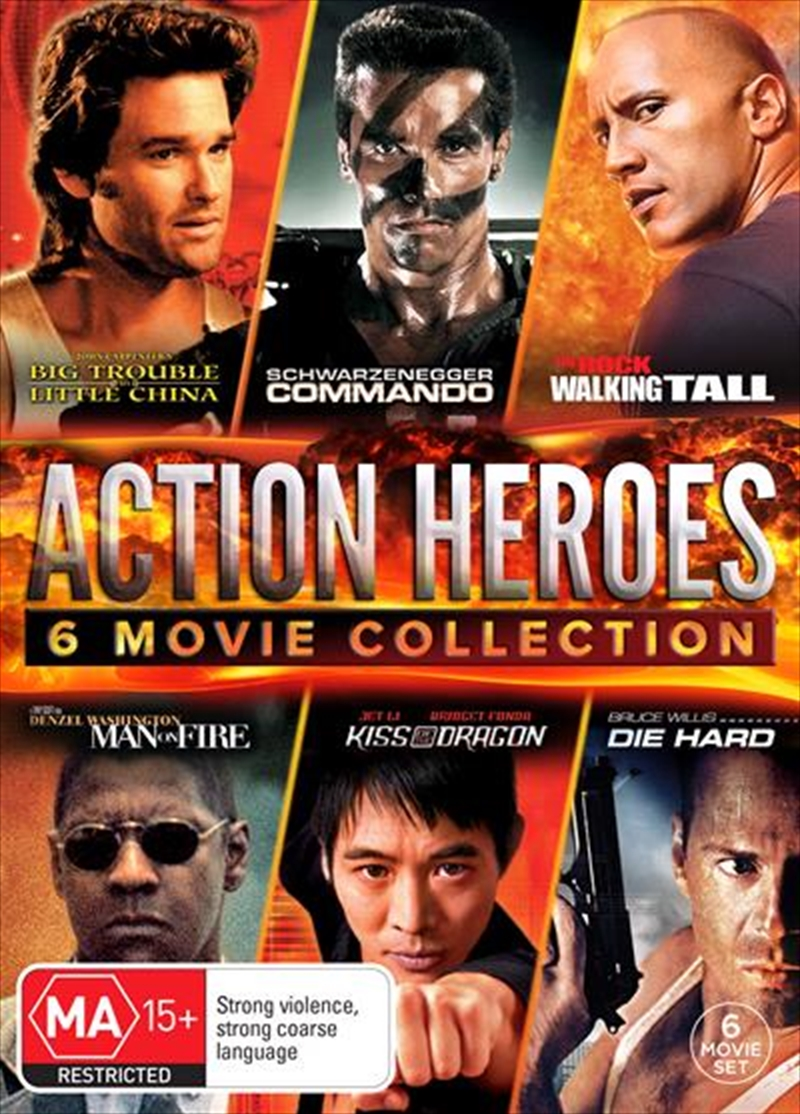 Action Heroes 6 Pack - Collection | DVD