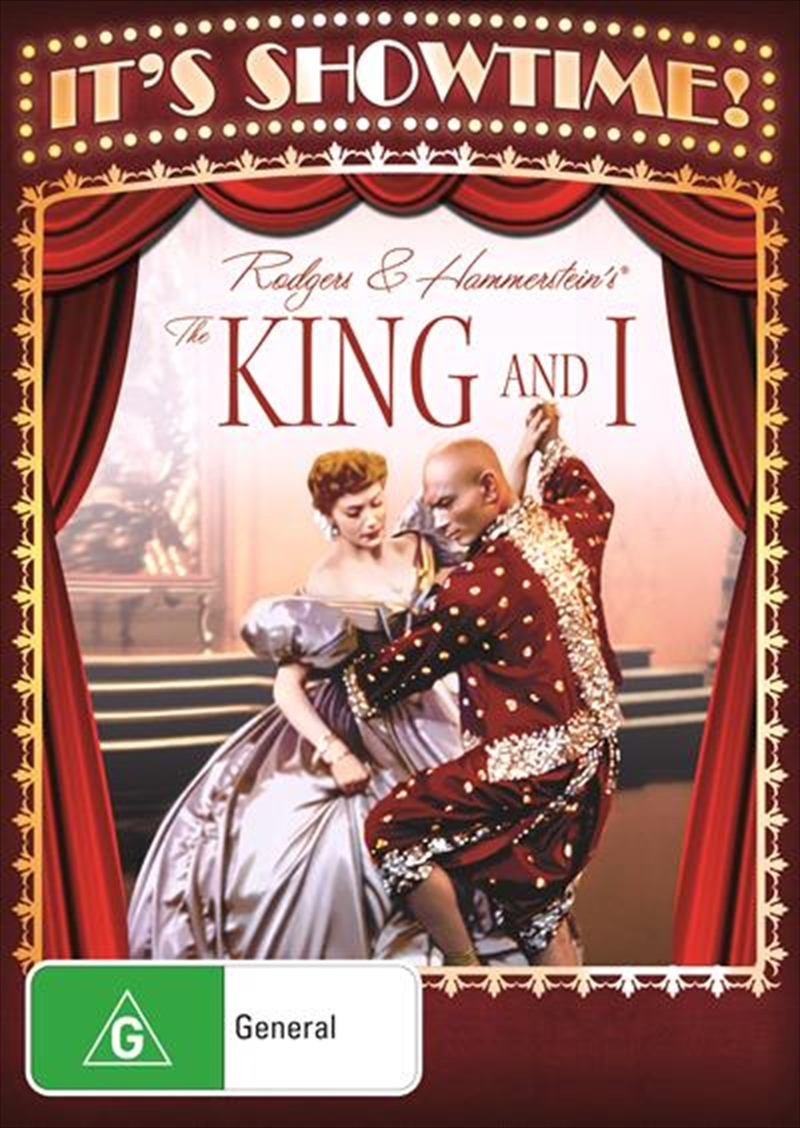 King And I It's Showtime, The | DVD