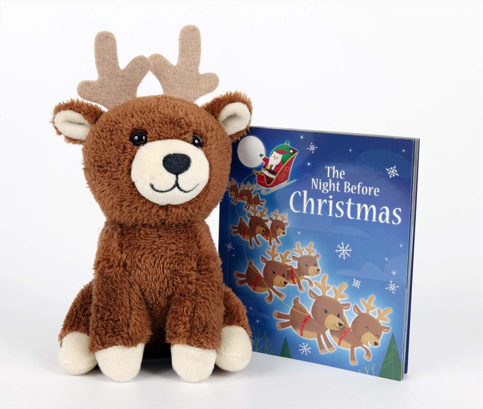 Night Before Christmas - Book And Plush | Hardback Book