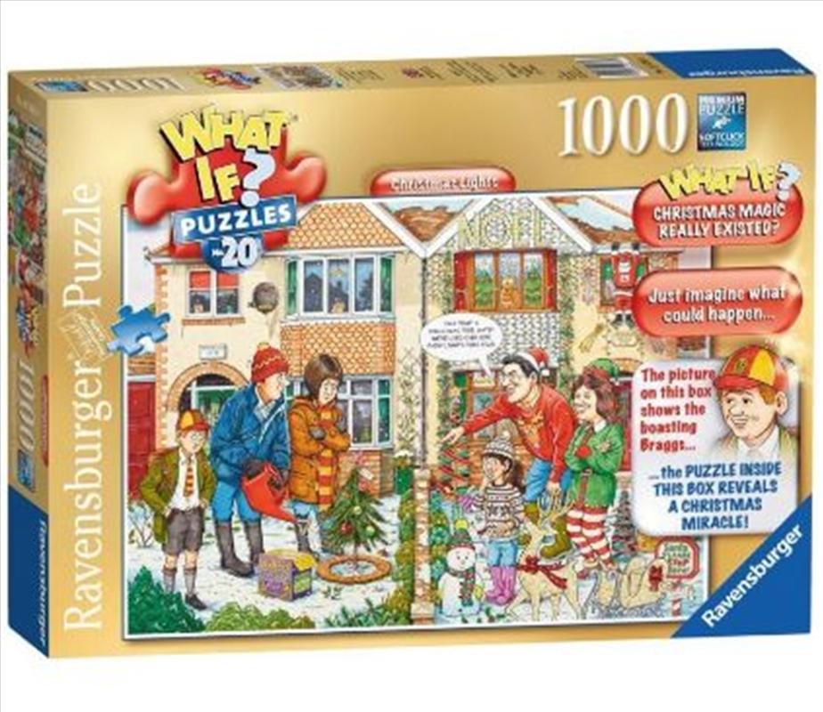 Disney Christmas Eve 1000 Piece Puzzle   Merchandise