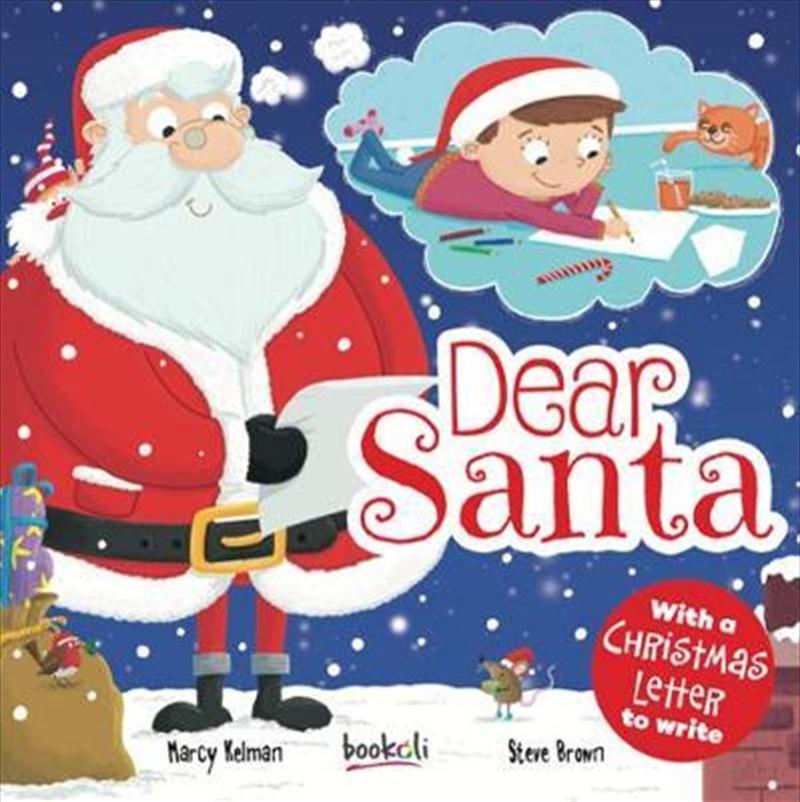 Dear Santa   Hardback Book