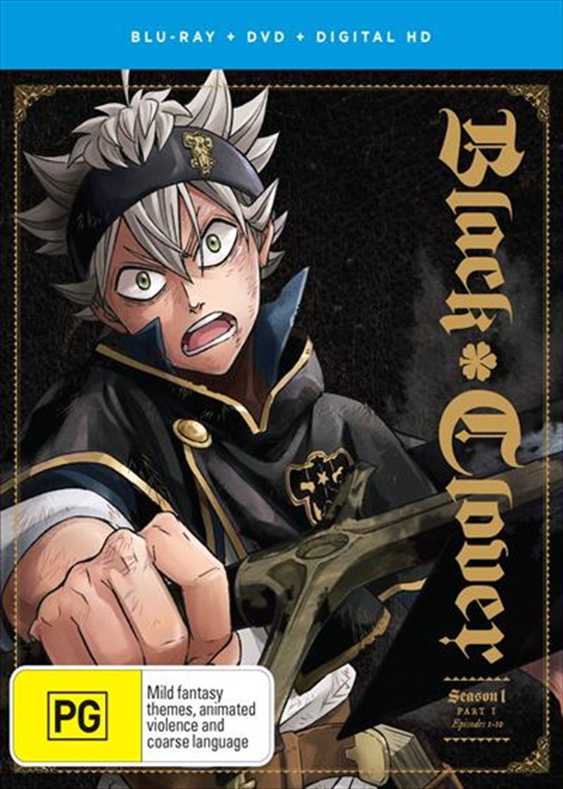 Black Clover - Season 1 - Part 1 | Blu-ray/DVD