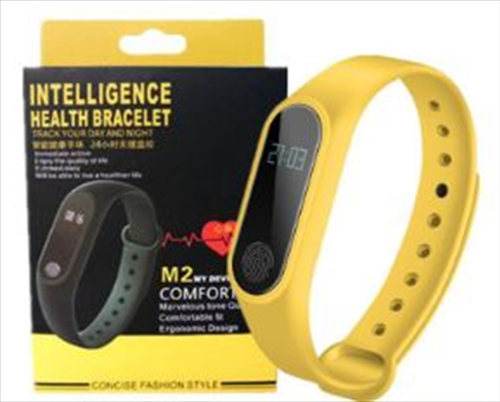 Fitness Watch - Yellow Colour | Apparel