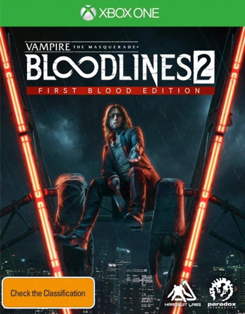 Vampire The Masquerade Bloodlines 2 First Blood Edition | XBox One