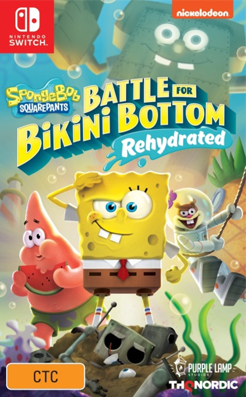 Spongebob Squarepants Battle for Bikini Bottom Rehydrated | Nintendo Switch