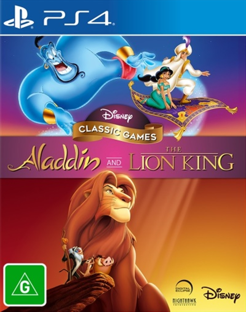 Aladdin and The Lion King (Disney Classic Games) | PlayStation 4