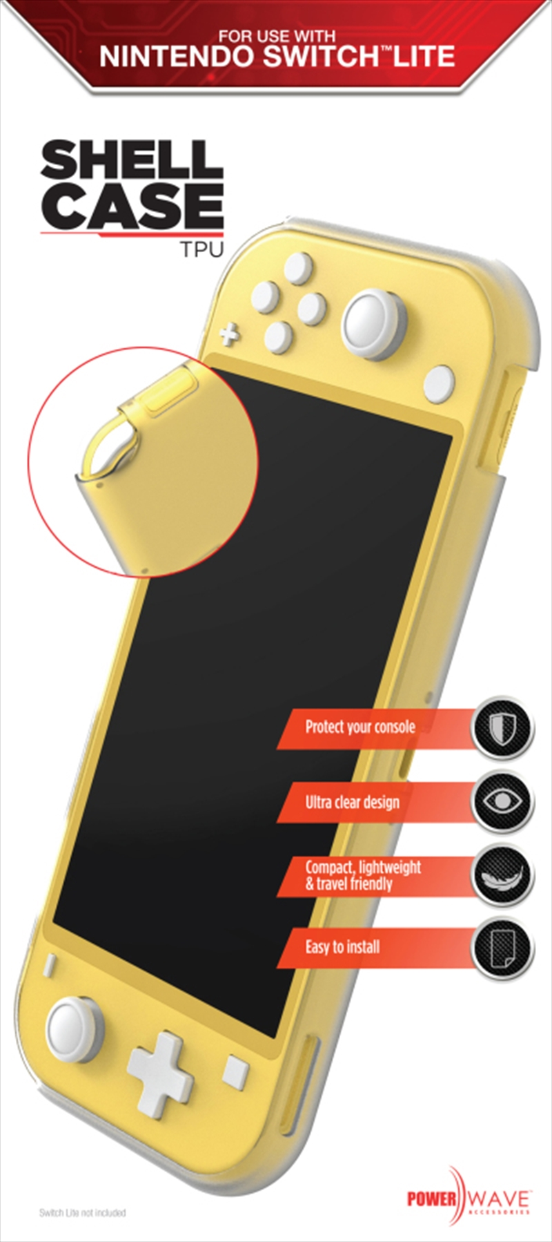 Powerwave Switch Lite TPU Shell Case | Nintendo Switch