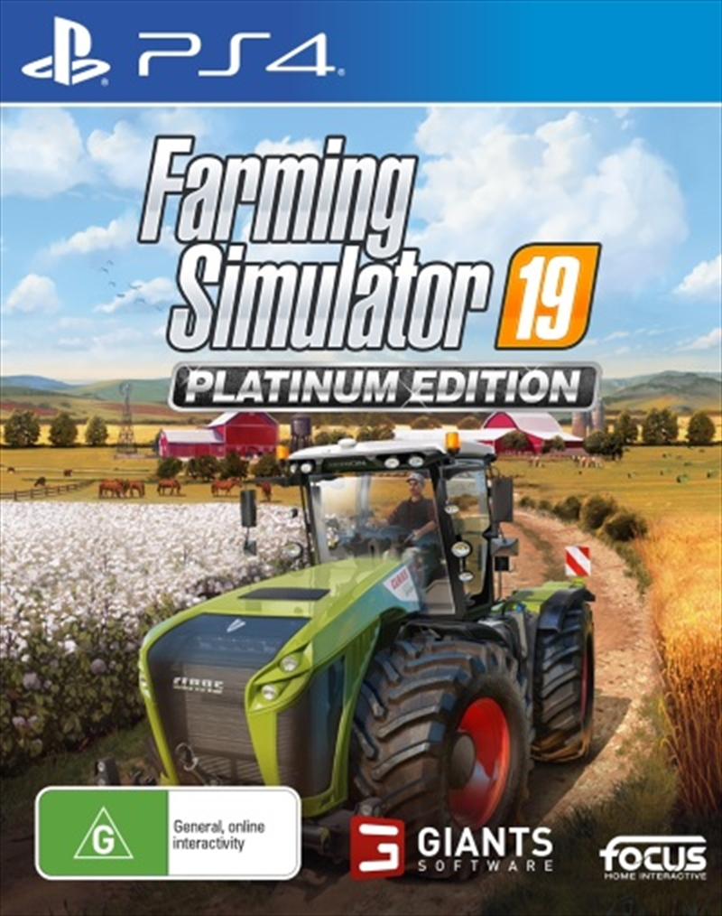 Farming Simulator 19 Platinum Edition | PlayStation 4