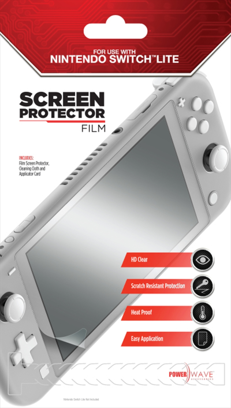 Powerwave Film Screen Protector for Nintendo Switch Lite | Nintendo Switch