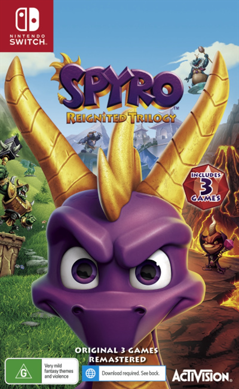 Spyro Reignited Trilogy | Nintendo Switch