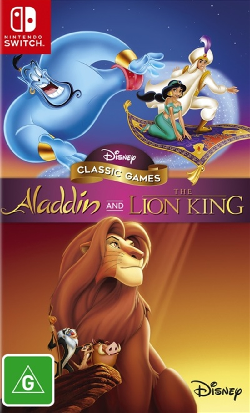 Aladdin And The Lion King | Nintendo Switch