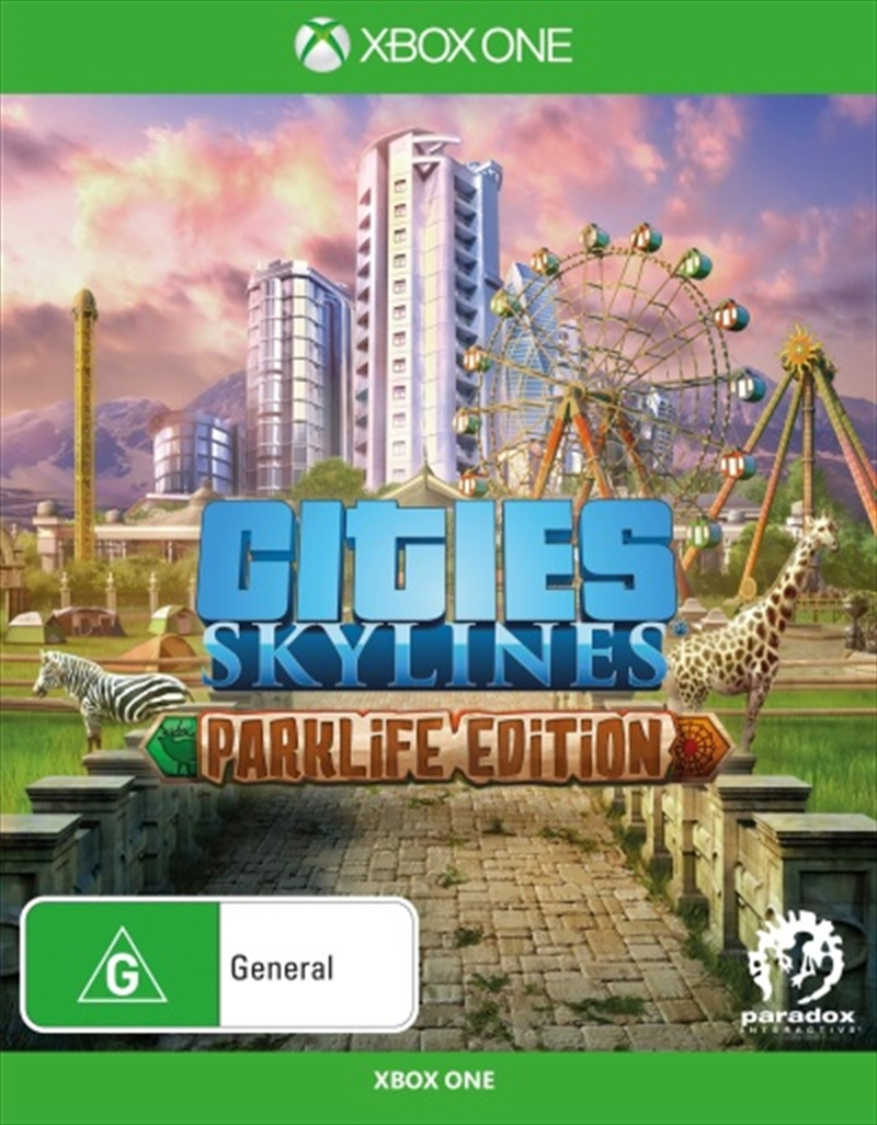 Cities Skylines Parklife Edition | XBox One