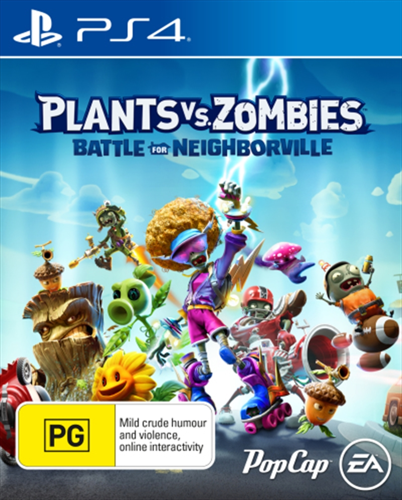 Plants vs Zombies Battle for Neighborville | PlayStation 4