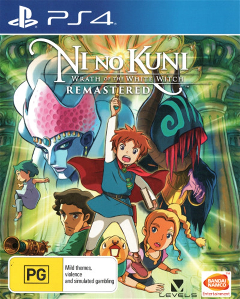 Ni no Kuni Wrath of the White Witch Remastered | PlayStation 4