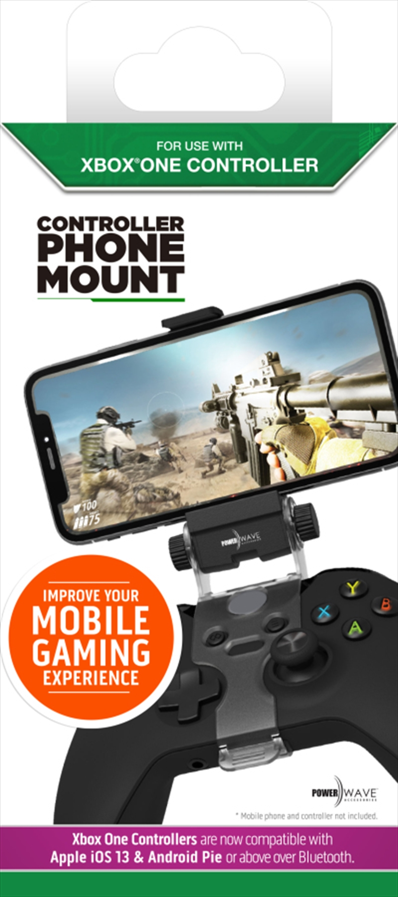 Powerwave Xbox One Controller Phone Mount | XBox One
