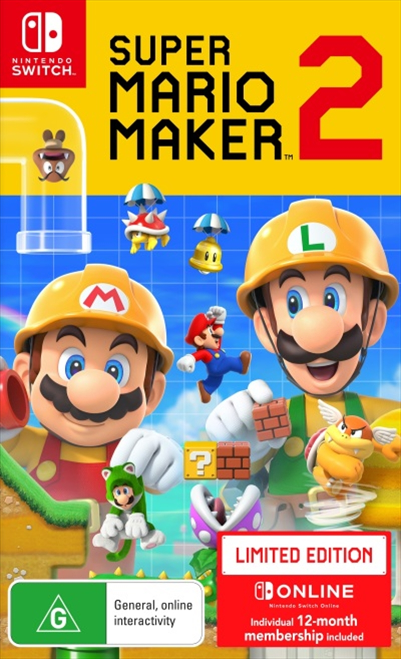 Super Mario Maker 2 - Limited Edition | Nintendo Switch