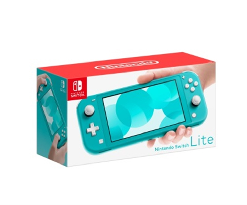 Nintendo Switch Console Lite Turquoise | Nintendo Switch
