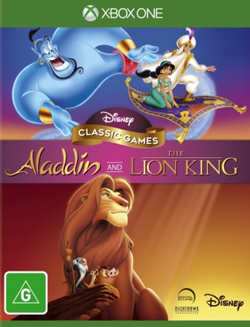 Aladdin and The Lion King (Disney Classic Games) | XBox One