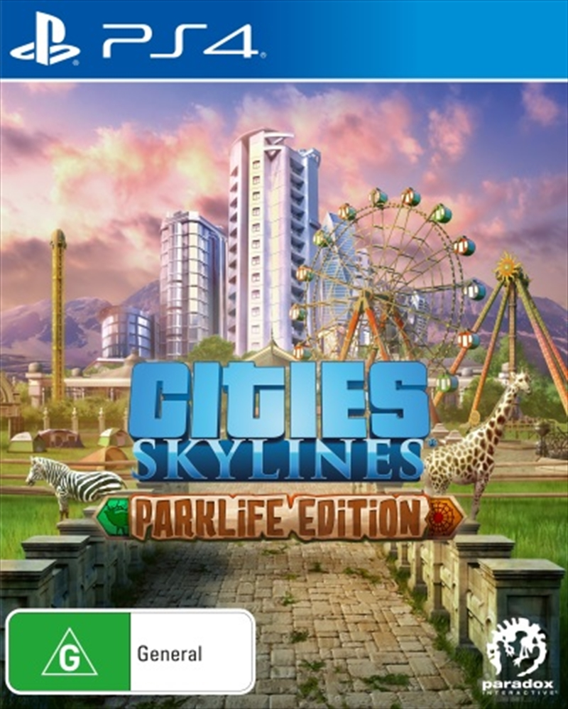Cities Skylines Parklife Edition | PlayStation 4