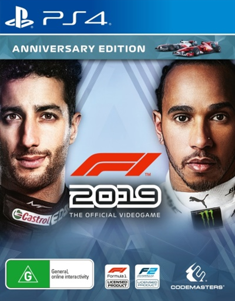 F1 2019 - Anniversary Edition | PlayStation 4