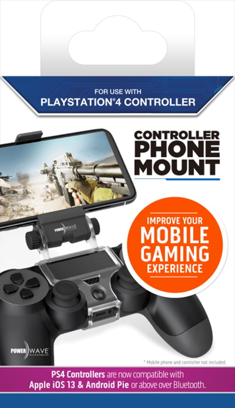 Powerwave PS4 Controller Phone Mount | PlayStation 4