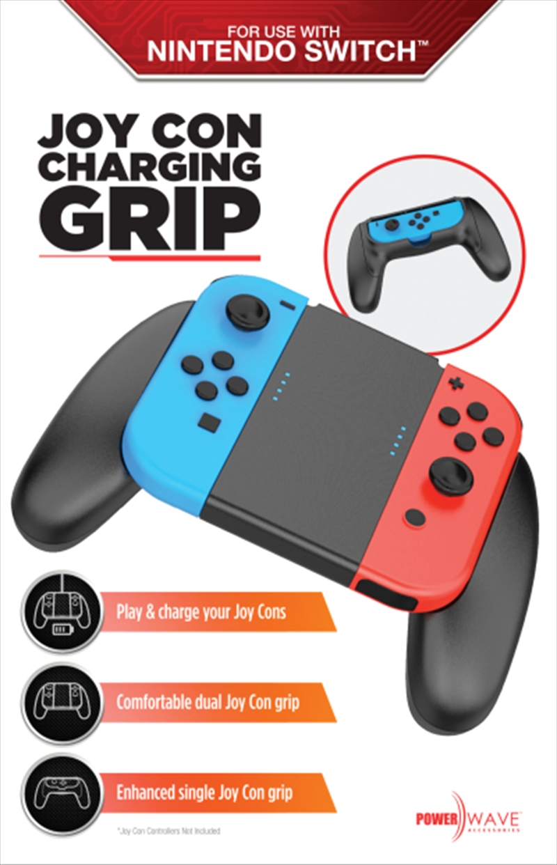 Powerwave Switch Multifunction Joy Con Charging Grip | Nintendo Switch