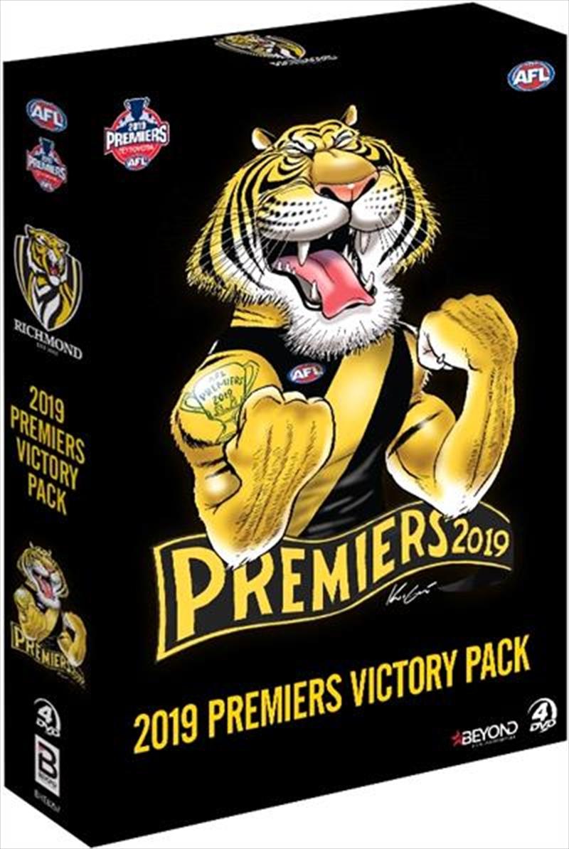 AFL - 2019 Premiers Victory Pack   DVD