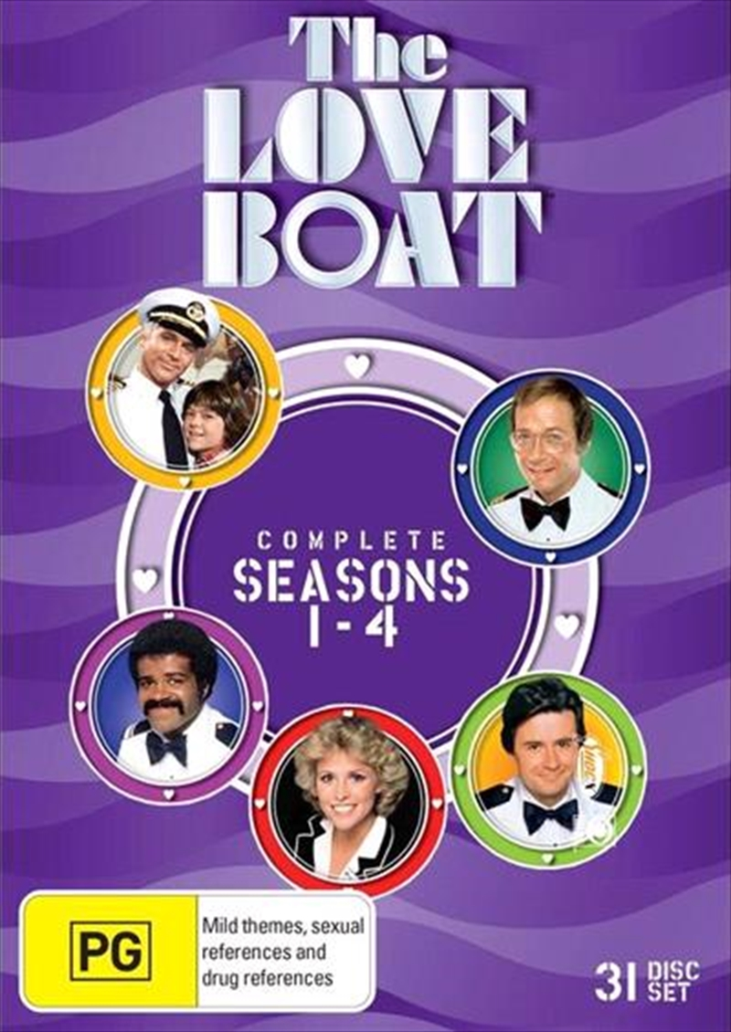 Love Boat - Season 1-4 | Collection, The | DVD