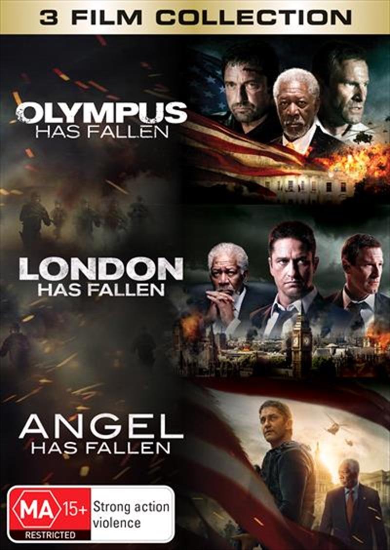 Olympus Has Fallen / London Has Fallen / Angel Has Fallen   DVD