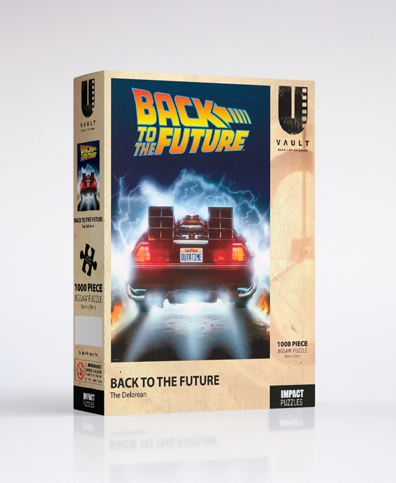 Delorean 1000 Pce Jigsaw | Merchandise