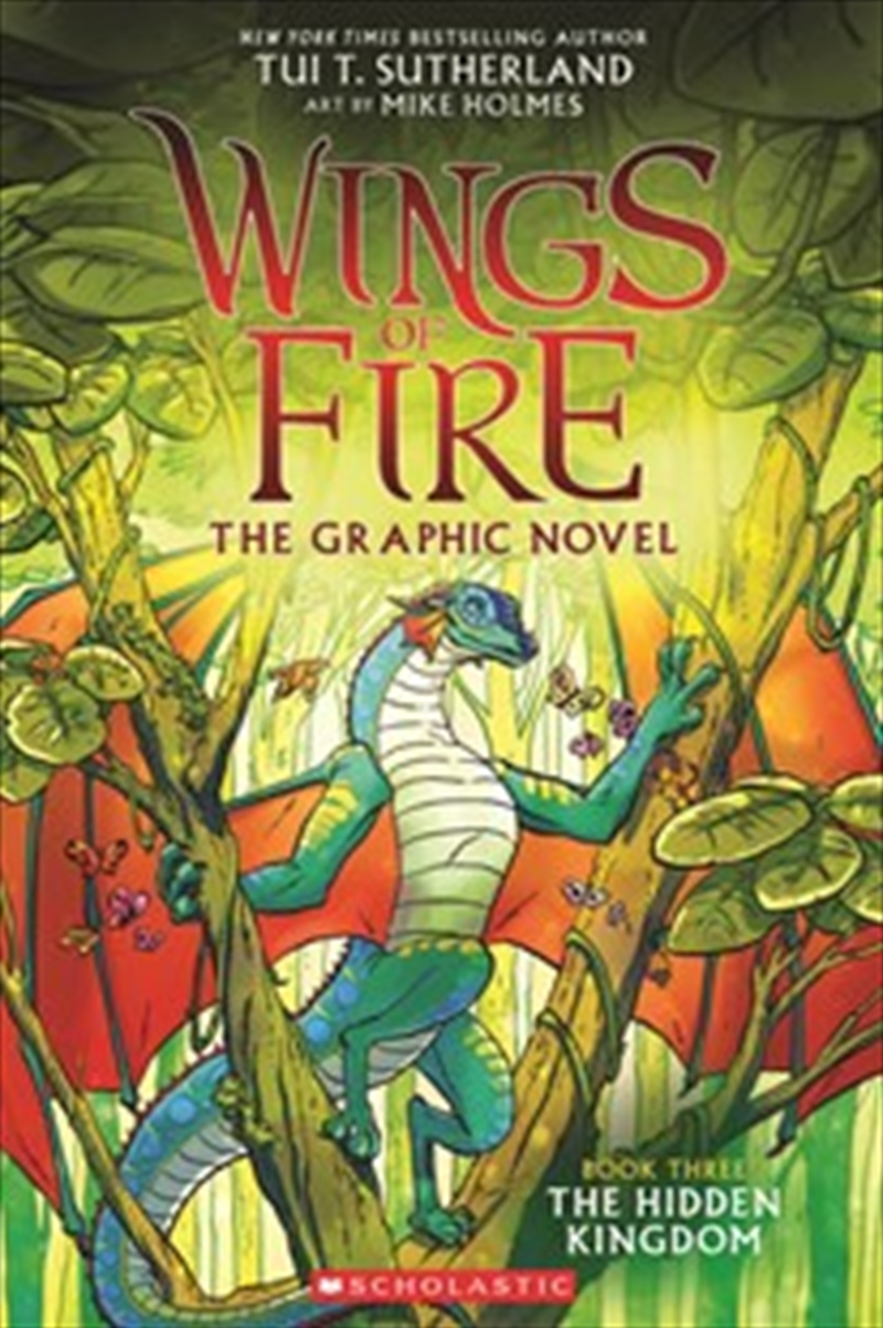 Wings of Fire GraphiX #3: The Hidden Kingdom | Paperback Book