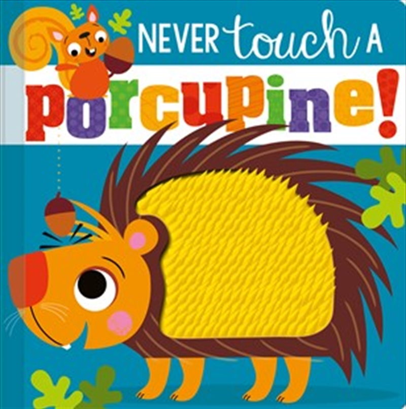 Never Touch a Porcupine | Board Book
