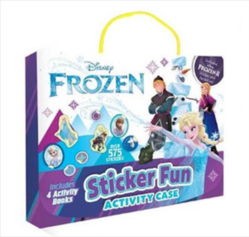 Frozen 2: Sticker Activity Case | Hardback Book