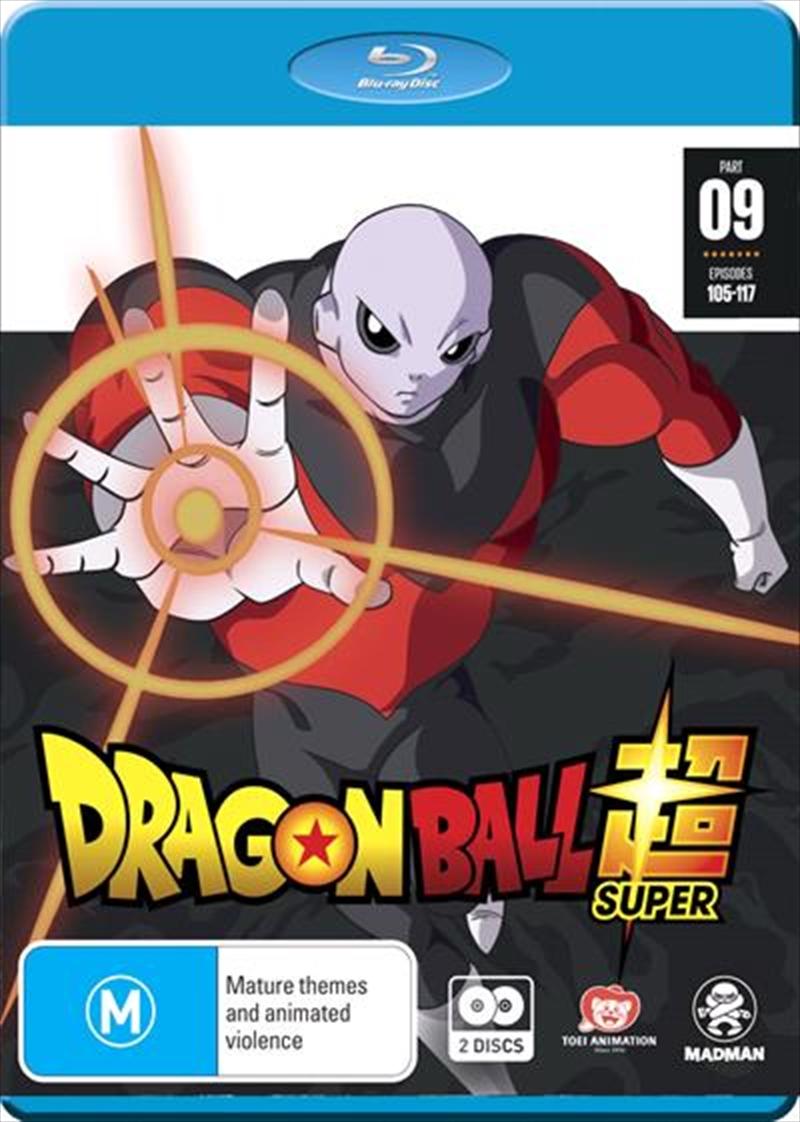 Dragon Ball Super - Part 9 - Eps 105-117 | Blu-ray