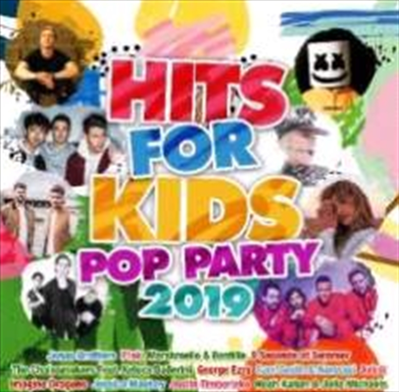 Hits For Kids Pop Party 2019 | CD