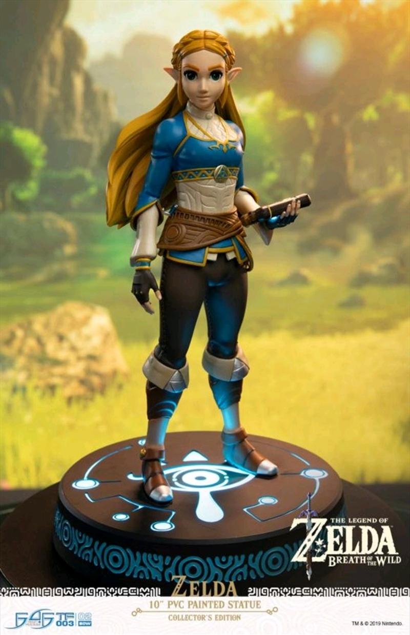 The Legend of Zelda - Zelda Breath of the Wild Vinyl Statue Collector's Edition   Merchandise
