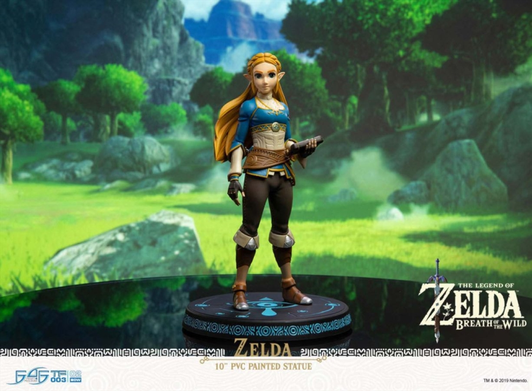 The Legend of Zelda - Zelda Breath of the Wild Vinyl Statue | Merchandise