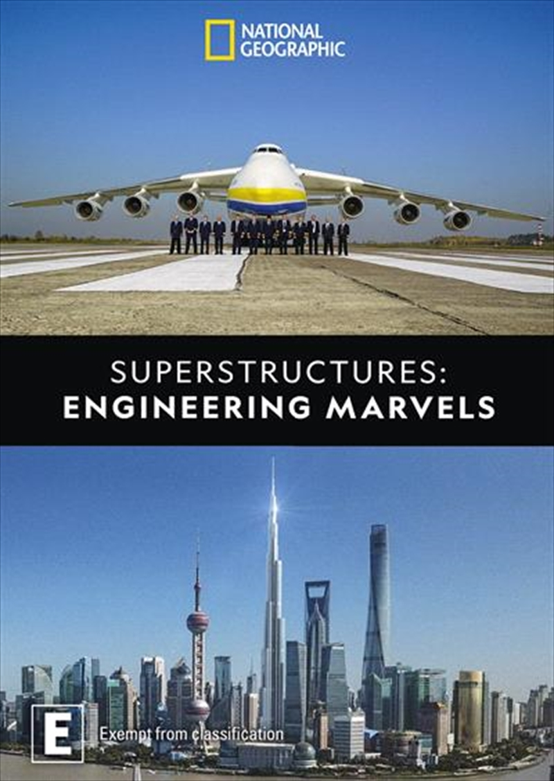 Superstructures - Engineering Marvels | DVD